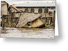 Shanty Town Disaster Greeting Card
