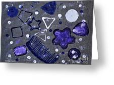 Shape From The Series The Elements And Principles Of Art Greeting Card