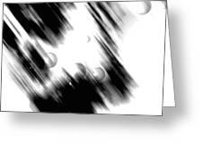 Shape Of The Rain Greeting Card
