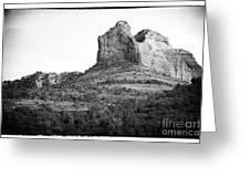 Shapes Of Oak Creek Canyon Greeting Card