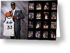 Shaquille O'neal Greeting Card