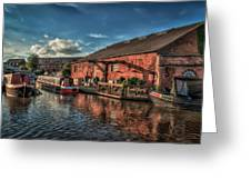 Shardlow Wharf Greeting Card