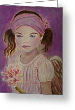 Sharissa Little Angel Of New Beginnings Greeting Card