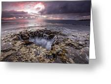 Sharks Mouth Cove Greeting Card