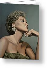 Sharon Stone Greeting Card