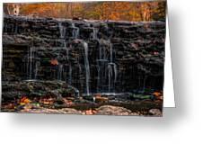 Sharon Woods Waterfall Greeting Card
