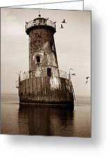 Sharps Island Lighthouse Greeting Card