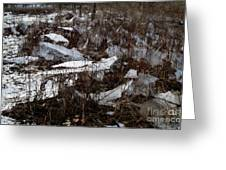 Shattered Field Greeting Card