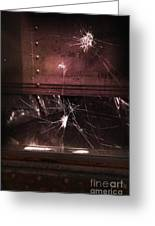 Shattered Window Greeting Card