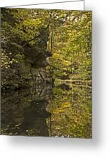 Shawnee Fall Reflection Greeting Card