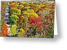 Shawnee Hill  Greeting Card