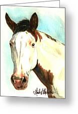 Shawnee Greeting Card by Linda L Martin