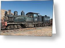 Shay Engine 14 In The Colorado Railroad Museum Greeting Card