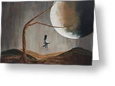 She Feels Memories By Shawna Erback Greeting Card by Shawna Erback