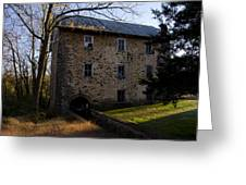 Sheards Mill In October Greeting Card