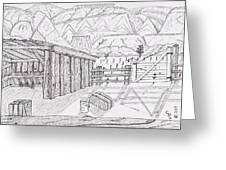 Shed 3 Greeting Card