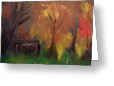 Shed In The Woods Greeting Card by Steve Jorde