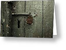 Shed Of Secrets Greeting Card