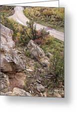 Sheep Creek Canyon Wyoming 6 Greeting Card