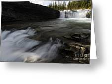 Sheep River Falls Alberta Canada 1 Greeting Card