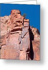 Sheer Canyon Walls Greeting Card