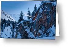 Sheer Walls Greeting Card