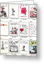 Sheet Three Greeting Card