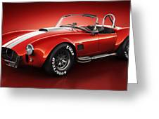 Shelby Cobra 427 - Bloodshot Greeting Card