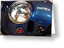 Shelby Cobra Circa 1965 Greeting Card