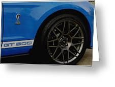 Shelby Cobra Gt 500 / Ford Greeting Card