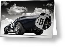 Shelby Daytona Greeting Card by Douglas Pittman