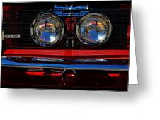 Shelby Gt 500 Mustang 2 Greeting Card