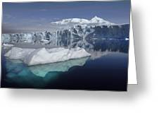 Sheldon Glacier Greeting Card