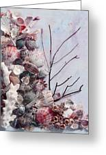 Shell Bouquet  No 6 Greeting Card
