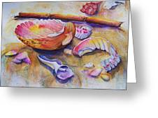 Shell Game Greeting Card