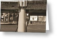 Shell Gas - Wayne Visible Gas Pump 2 Greeting Card