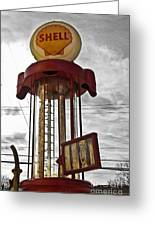 Shell Invisible Pump Color Greeting Card