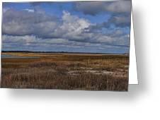 Shell Island To Figure Eight Panorama Greeting Card