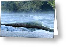 Shell Rock Rapids Two Greeting Card