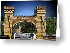 Shellhaven Bridge Greeting Card