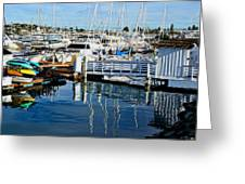 Shelter Island Yachts Greeting Card