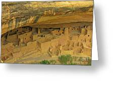 Shelter Under The Cliffs Greeting Card