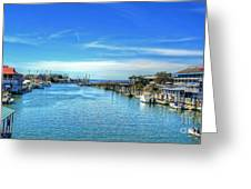 Shem Creek Greeting Card