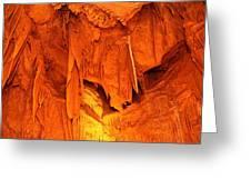 Shenandoah Caverns - 121266 Greeting Card by DC Photographer