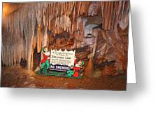 Shenandoah Caverns - 12127 Greeting Card by DC Photographer