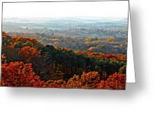 Shenandoah Valley Fall Panorama Greeting Card