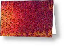Sherbet Pixels Greeting Card