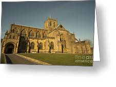 Sherborne Abbey  Greeting Card