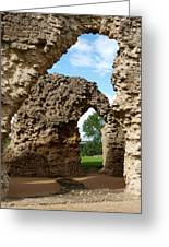 Sherborne Arches Greeting Card