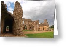 Sherborne Old Castle 5 Greeting Card